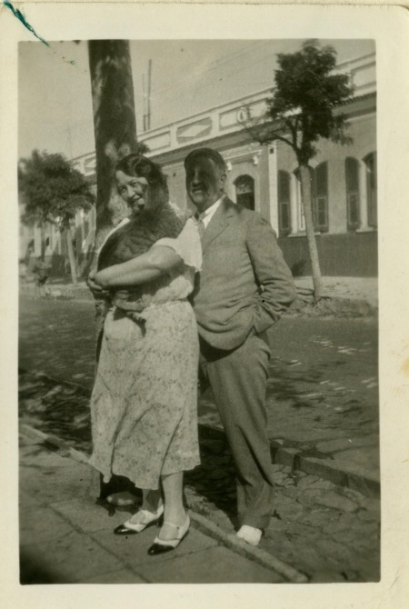 Cleopatra (Cleo) and Eddy (my grandparents from my mother's side)